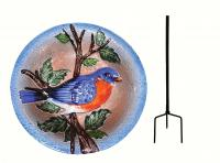 Songbird Essentials SE5011 Bluebird Staked Birdbath