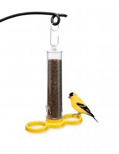 Droll Yankees Bird Lovers Finch Finder Nyjer Seed Tube Bird Feeder