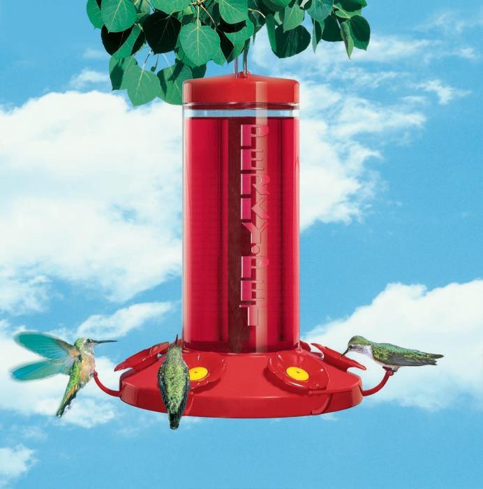 Perky Pet 48 Ounce Grand Master Hummingbird Bird Feeder