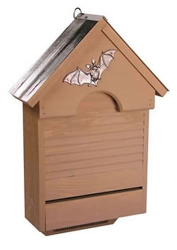 Heartwood Bat Haven Bat House, Smoke Grey