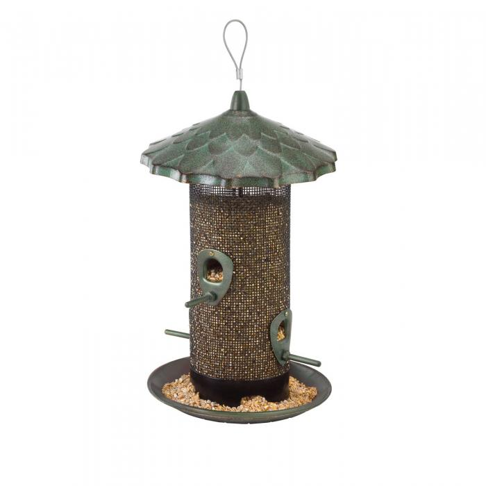 Hiatt Manufacturing Acorn Screen Tube Bird Feeder