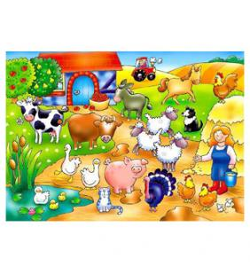 The original Toy Company Who's on the Farm Puzzle