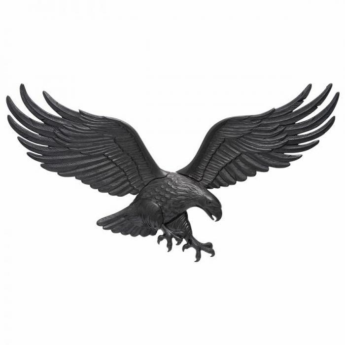 "Whitehall 36"" Wall Eagle - Black"