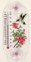 Aspects Hummingbird Azalea Thermometer