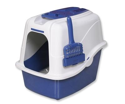 Deluxe Hooded Cat Litter Pan