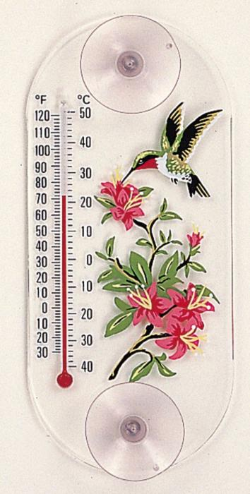 Aspects Hummingbird Azalea Thermometer
