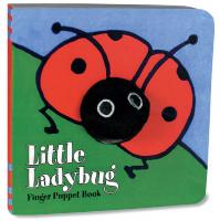 Chronicle Books Little Ladybug Finger Puppet Book