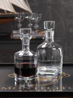 Zodax Montecito Round Glass Decanter - Large