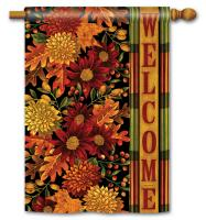 Magnet Works Welcome Fall Standard Flag