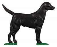 "30"" Black Lab Weathervane - Rooftop Color"
