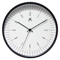 Infinity Belle Air Black Wall Clock