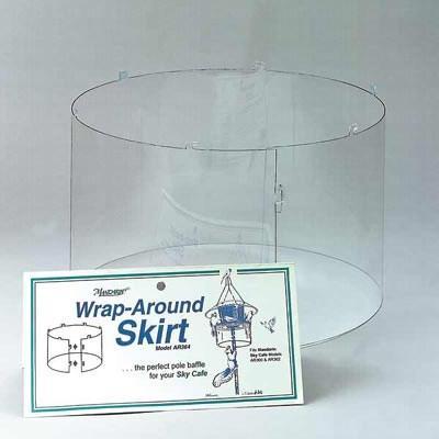 Arundale Mandarin SkyCafe Wrap-Around Skirt