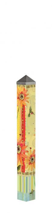 Magnet Works Hummingbird 3' Art Pole