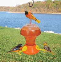 Bird Company Fliteline 48 Ounce Oriole Bird Feeder
