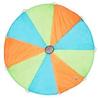 Pacific Plat Tents 18006 Funchute  6 Ft Parachute -- Blue / Green / Orange