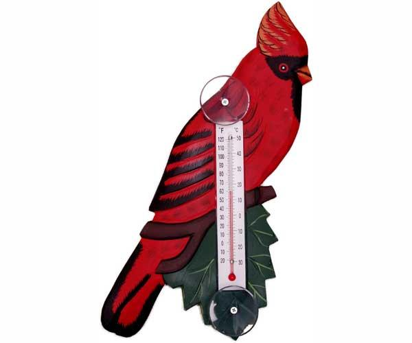 Bobbo Cardinal Thermometer Small