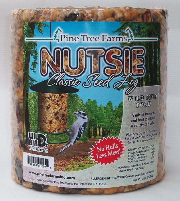Pine Tree Farms Nutsie Seed Log 96 oz.