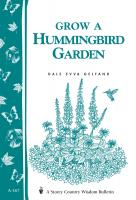 Workman Publishing Grow A Hummingbird Garden