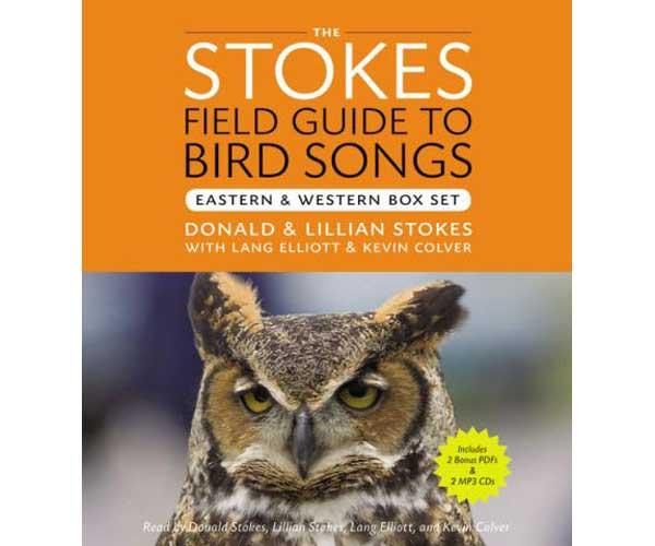 Stokes Stokes Field Guide to Bird Songs East & West 8 CD's