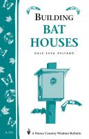 Workman Publishing Building Bat Houses