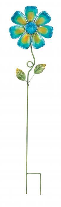 Regal Art & Gift Flower Stake, Blue