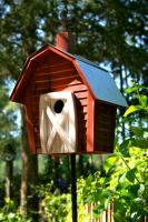 Heartwood Rock City Bird House, Redwood
