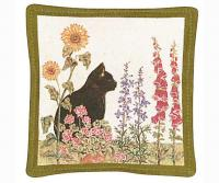 Alice's Cottage Black Cat Single Mug Mat