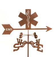 EZ Vane EMS Logo Weathervane