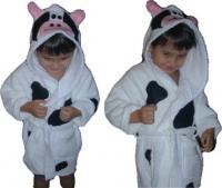 Cow Bath Robe