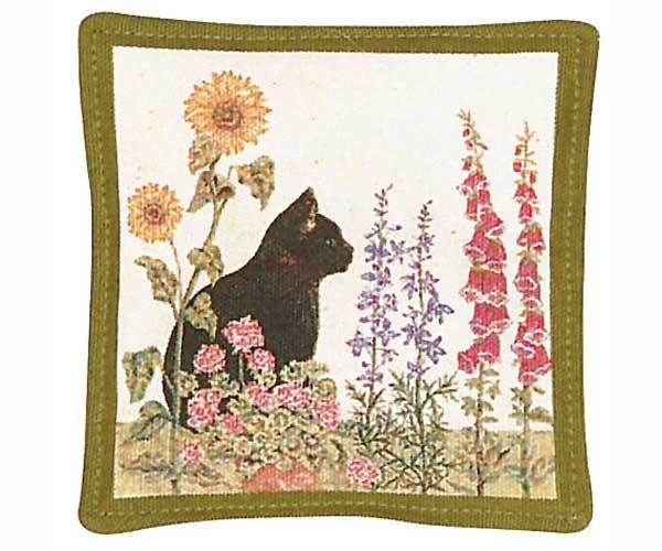 Alice's Cottage Black Cat Single Mug Mat