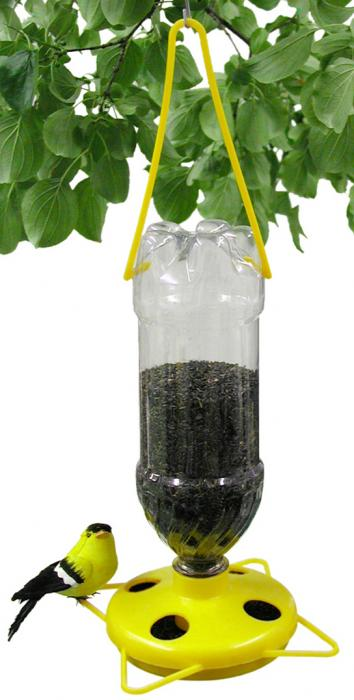 Gadjit Yellow Thistle Bird Feeder