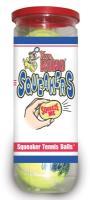 Kong Air Dog Squeaker Tennis Balls - 3 Pack