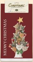 Fiddler's Elbow Meowy Christmas Towel