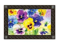 Magnet Works Mixed Pansies MatMate