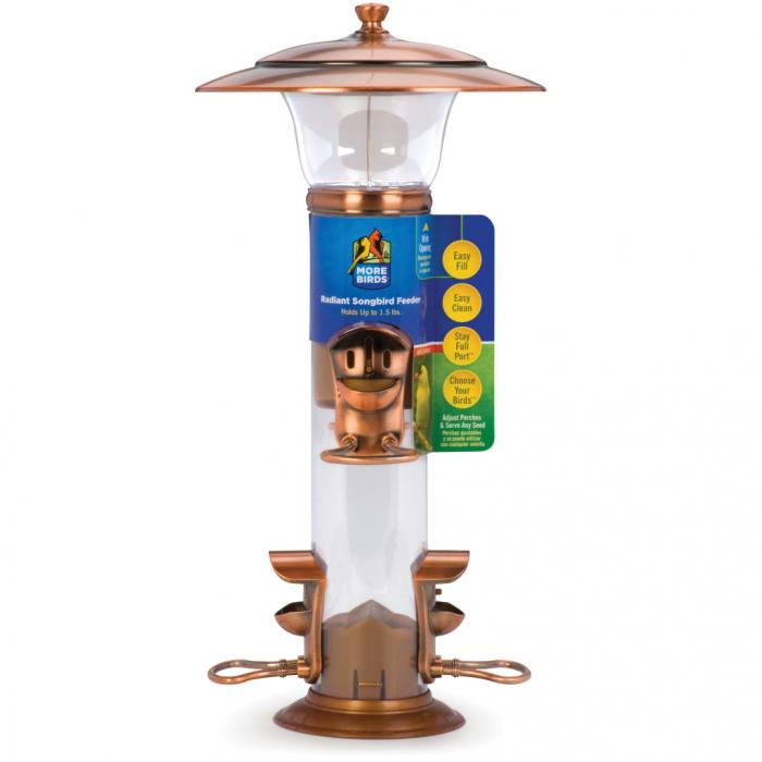 Classic Brands Radiant Seed Tube Bird Feeder