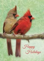 Tree Free Greetings Christmas Cardinals