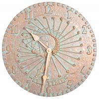 Whitehall Golfer Clock - Copper Verdi