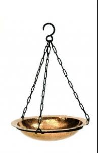 Achla Designs Hammered Copper Bird Bath Bowl