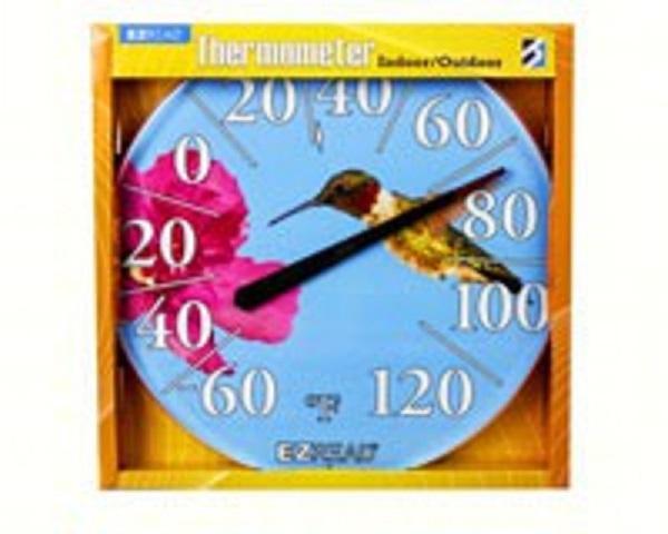 Hummingbird Thermometer 12.5 inch