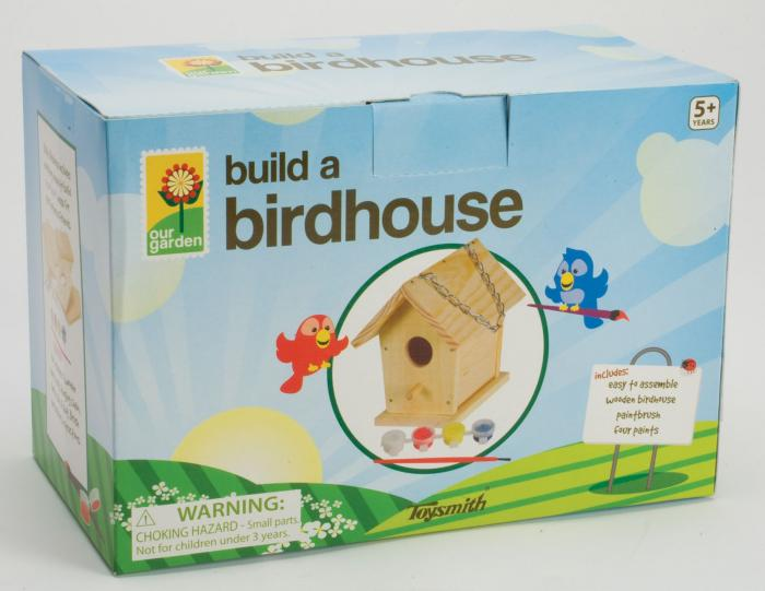 Toysmith Build-A-Bird House