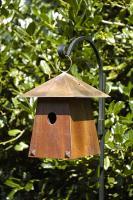 Heartwood Avian Bungalow Birdhouse, Mahogany