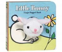 Chronicle Books Little Bunny Finger Puppet Book