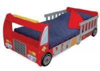 KidKraft Fire Truck Toddler Cot