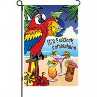 Premier Designs 5 O'Clock Somewhere Garden Flag