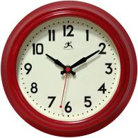 Infinity Cuccina Red Wall Clock