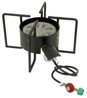Bayou Classic SP-2  Double Jet Cooker With Hose Guard