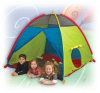 Pacific Play Tents Super Duper 4-Kid Play Tent - Blue / Green / Red / Yellow