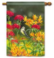 Magnet Works Summer Flowers Standard Flag