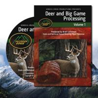 Outdoor Edge Deer & Big Game Processing DVD, Volume 1