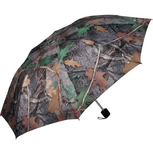"River's Edge 42"" Compact Folding Camo Umbrella"